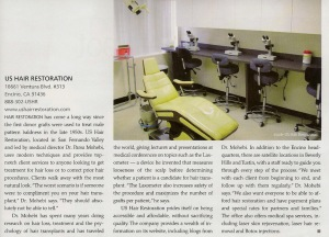 USHR Medical Spa in METRO LA Magazine