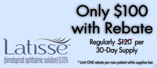 Latisse Rebate Offer